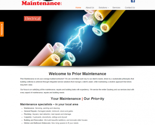 Prior Maintenance